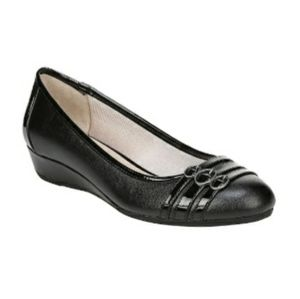 Naturalizer Black Shoes Pumps Flats Wedge 10 10W